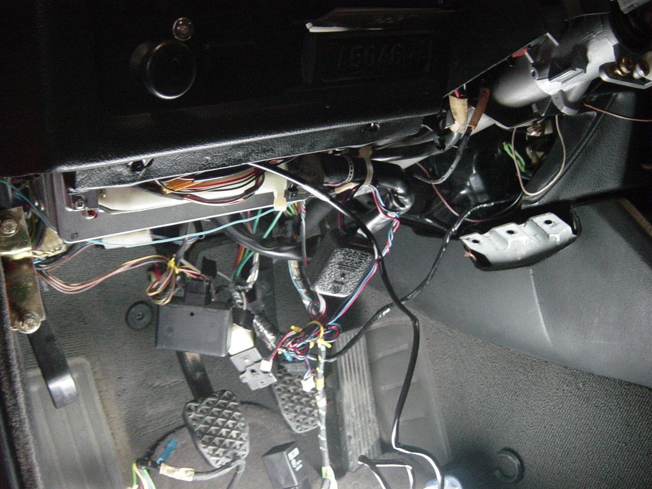 1991 Bmw 318i E30 M42 On Board Computer Obc Retrofit By Michael Wiring Diagram Enjoy The Mess Under Car
