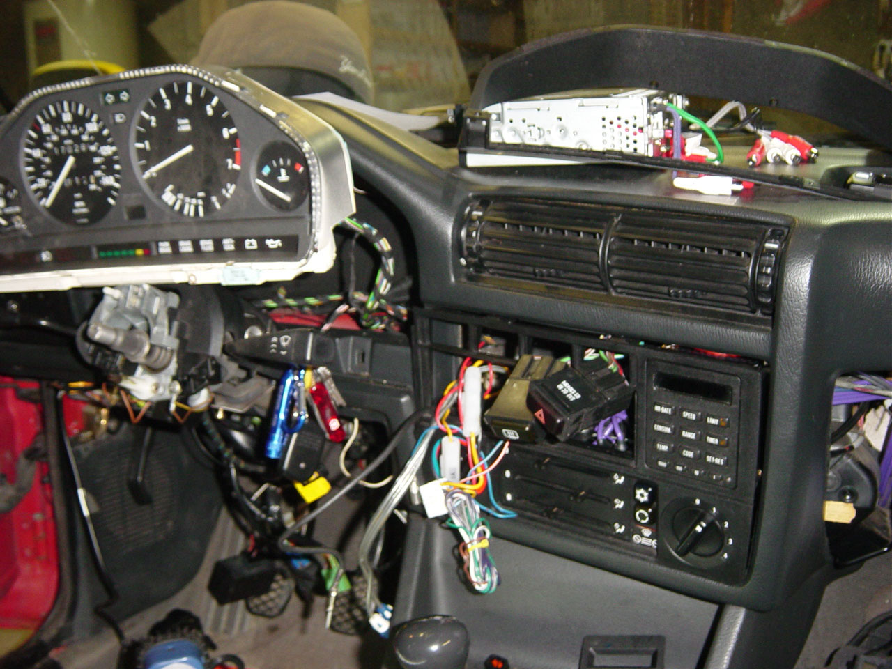 1991 Bmw 318i E30 M42 On Board Computer Obc Retrofit By Michael Wiring Alarm Pincott