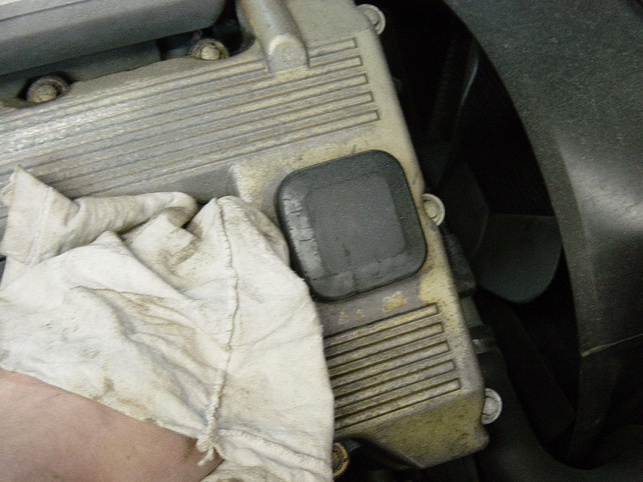 how to change oil in old 318ci
